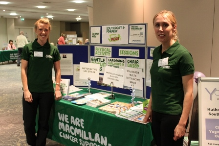 Launch of new cancer programme at health and wellbeing event