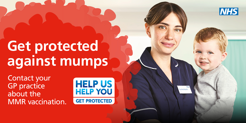 Make sure you're protected against mumps
