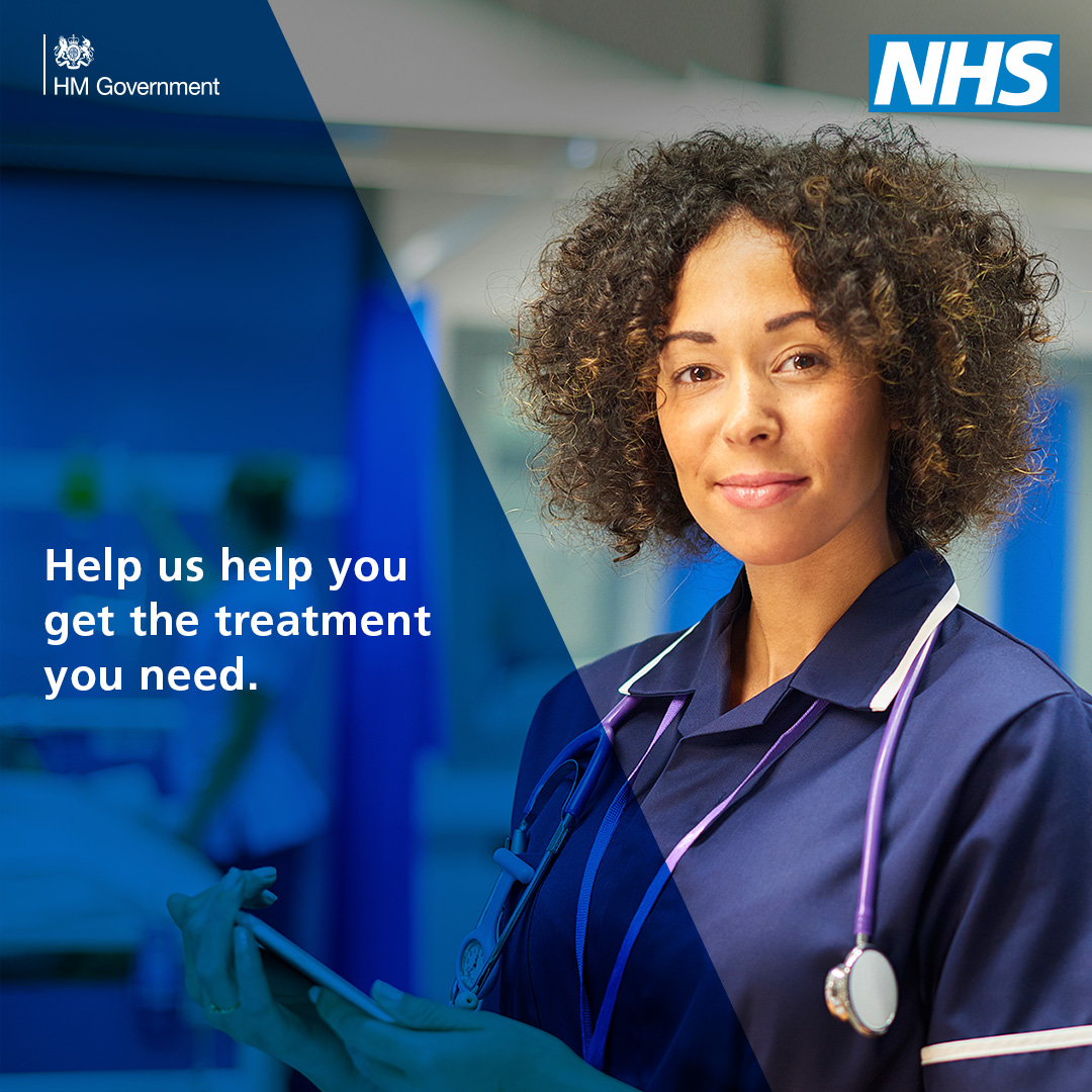 Help us help you: NHS urges public to get care when they need it