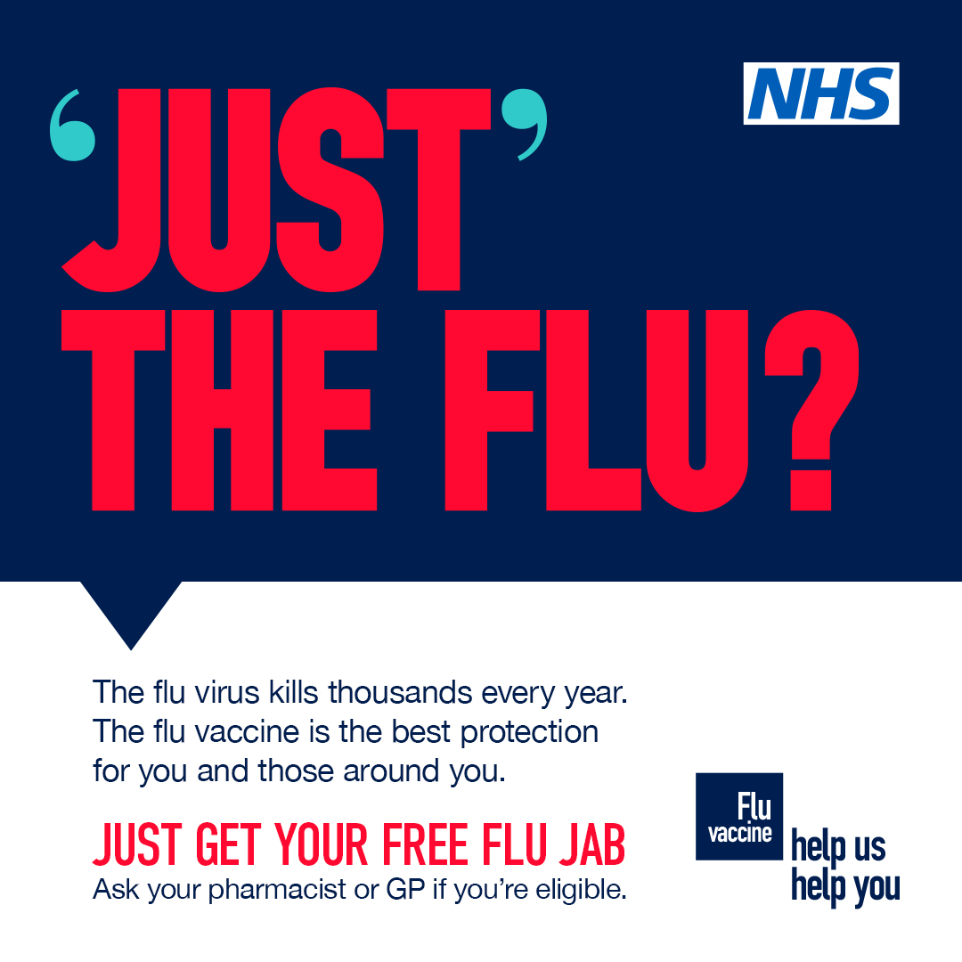Get your flu vaccination before the countdown to Christmas